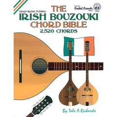 Cabot Books Publishing Irish Bouzouki Chord Bible