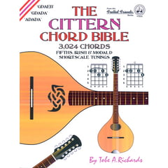 Cabot Books Publishing Cittern Chord Bible