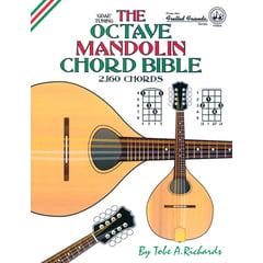 Cabot Books Publishing Octave Mandolin Chord Bible
