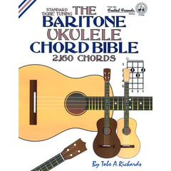 Cabot Books Publishing Baritone Ukulele Chord Bible