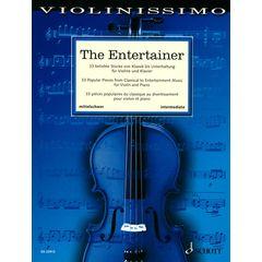 Schott Violinissimo The Entertainer