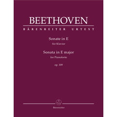 Bärenreiter Beethoven Sonate in E