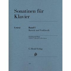 Henle Verlag Sonatinen for Klavier Vol.1