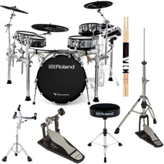 Roland TD-50KVX V-Drum Set Bundle