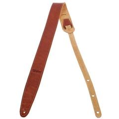Taylor Suede Guitar Strap Med. Brown