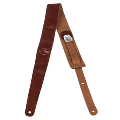 Taylor All-Suede Guitar Strap Brown