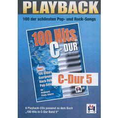 Musikverlag Hildner 100 Hits C-Dur 5 Playback CDs