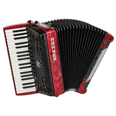 Hohner Bravo III 80 Red silent key