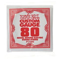Ernie Ball 080 Single String Wound Set