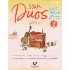 Holzschuh Verlag Starke Duos Cello 2