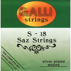 Galli Strings S018 Saz Strings Set