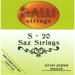 Galli Strings S020 Saz Strings Set