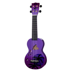 Mahalo Hawaii Purple Ukulele