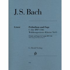Henle Verlag Bach Präludium C-Dur BWV 846