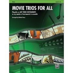 Alfred Music Publishing Movie Trios For All Viola