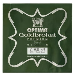 "Optima Goldbrokat Premium e"" 0.26 BE"