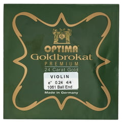 "Optima Goldbrokat 24K Gold e"" 0.24 BE"