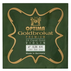 "Optima Goldbrokat 24K Gold e"" 0.26 BE"