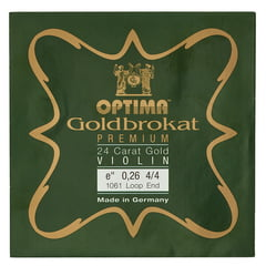 "Optima Goldbrokat 24K Gold e"" 0.26 LP"
