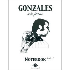 Editions Bourges Chilly Gonzales NoteBook Vol.1