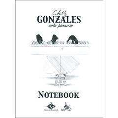 Editions Bourges Chilly Gonzales NoteBook Vol.3