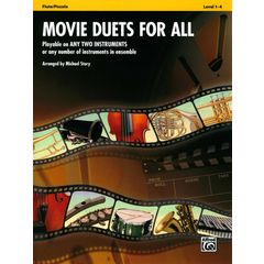 Alfred Music Publishing Movie Duets For All Flute