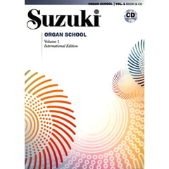 Alfred Music Publishing Suzuki Organ School Vol.1 + CD