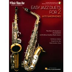Music Minus One Easy Jazz Duets Alto-Sax