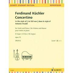 Schott Küchler Concertino op.35