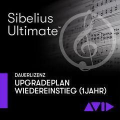 Avid Sibelius Ultimate 1Y Plan New