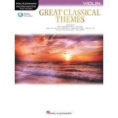 Hal Leonard Great Classical Themes Violin