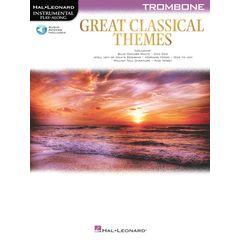 Hal Leonard Great Classical Themes Trombon