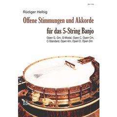 Schell Music Offene Stimmung 5-String Banjo