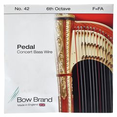 Bow Brand Pedal Wire 6th F String No.42