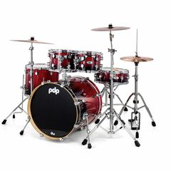 "DW PDP M5 20"" Bundle Cherry"