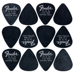 Fender 351 Dura-Tone Picks BLK