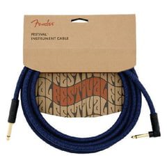Fender FV Series Cable Cotton Blue Dr