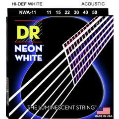 DR Strings DR Neon Hi-Def White 011-050