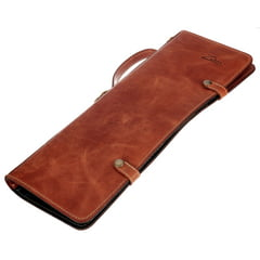 Zultan Leather Stick Bag Tan Brown