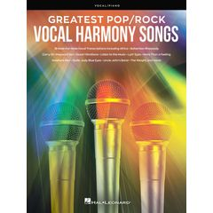 Hal Leonard Greatest Pop/Rock Vocal Harmon