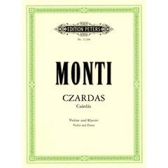 Edition Peters Monti Czardas Violin und Klav