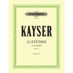 Edition Peters Kayser 36 Etüden op. 20 Violin