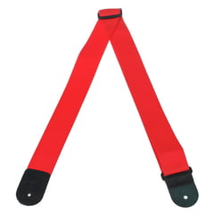 "Levys Poly Strap 2"" RED"
