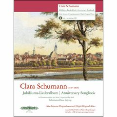 Edition Peters Clara Schumann Jubiläum High