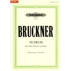 Edition Peters Bruckner Te Deum