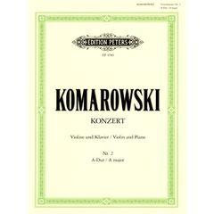 Edition Peters Komarowski Concert Nr. 2 A-Dur