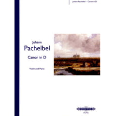 Edition Peters Pachelbel Kanon D-Dur Violin