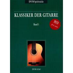 Deutscher Verlag für Musik Klassiker der Gitarre Vol.1