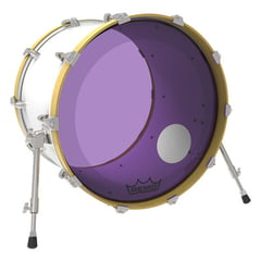 "Remo 22"" P3 Colortone Reso Purple"