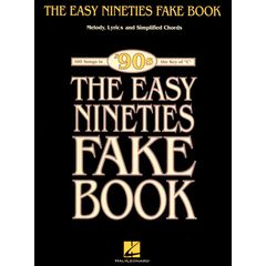 Hal Leonard The Easy Nineties Fake Book